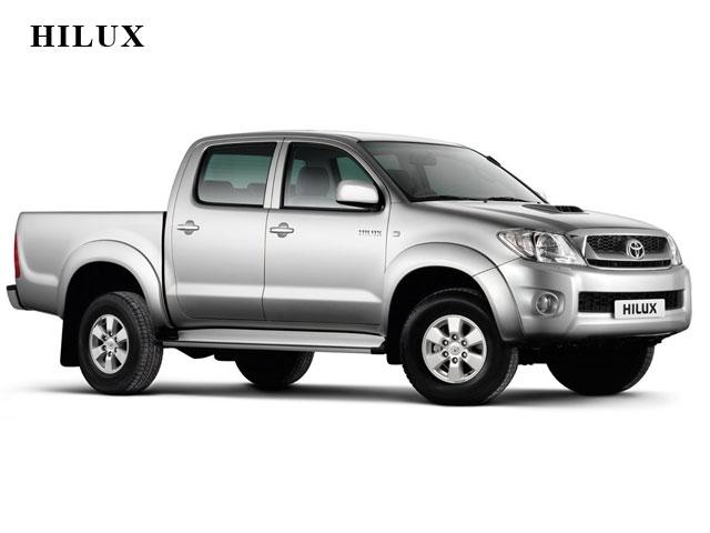 """A Toyota Hilux fechou o mês de abril como a pick-up média mais """"emplacada""""   do Brasil, considerando as linhas flex e diesel. 0aa0ad982b"""