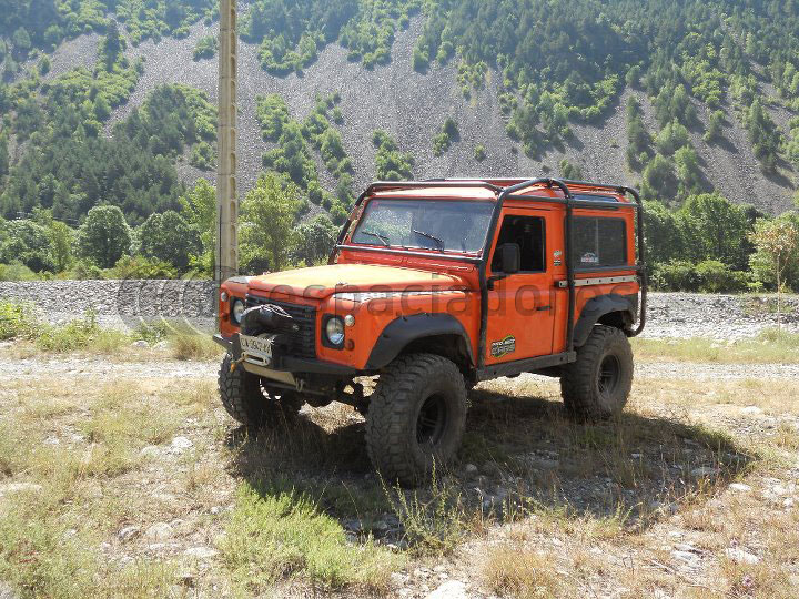 Land Rover Defender 90 Extrem